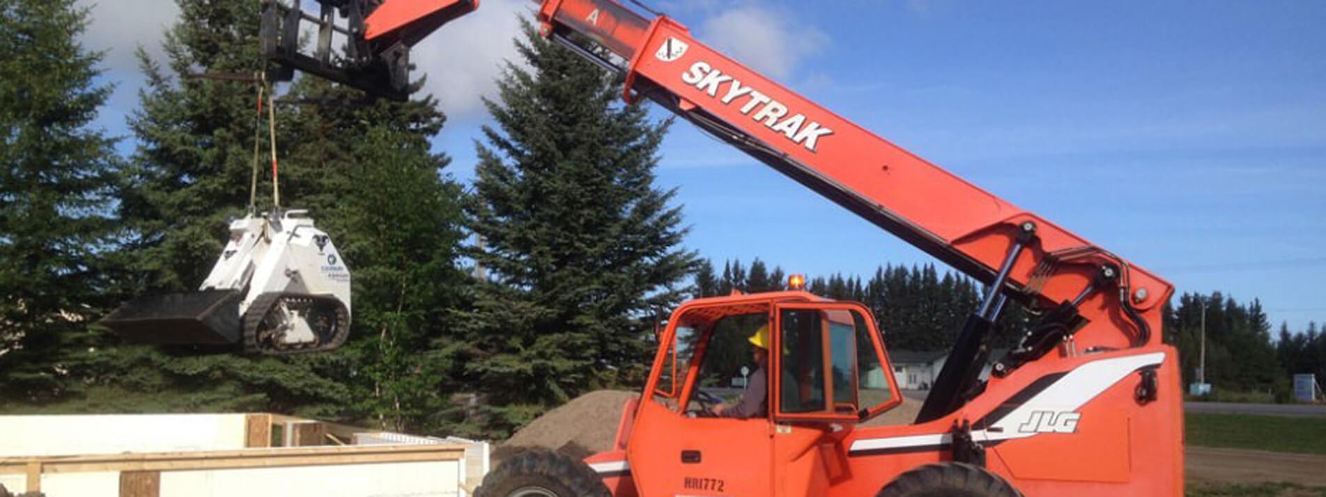 Skytrak Crane